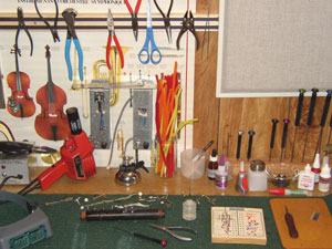 Instrument Repair Bench